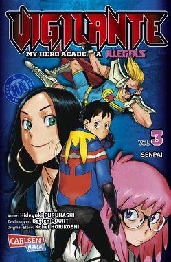 Vigilante – My Hero Academia Illegals 3 von Bockel,  Antje, Furuhashi,  Hideyuki, Horikoshi,  Kohei