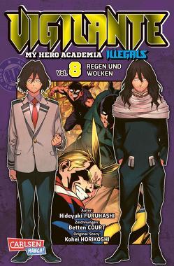 Vigilante – My Hero Academia Illegals 8 von Bockel,  Antje, Court,  Betten, Furuhashi,  Hideyuki, Horikoshi,  Kohei