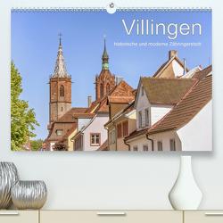 Villingen – historische und moderne Zähringerstadt (Premium, hochwertiger DIN A2 Wandkalender 2020, Kunstdruck in Hochglanz) von Brunner-Klaus,  Liselotte
