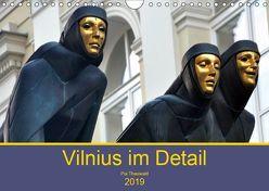 Vilnius im Detail (Wandkalender 2019 DIN A4 quer)