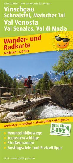 Vinschgau, Schnalstal, Matscher Tal / Val Venosta, Val Senales, Val di Mazia