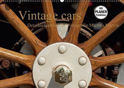 Vintage cars (Wandkalender 2018 DIN A2 quer) von Marten,  Martina
