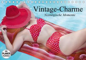 Vintage-Charme. Nostalgische Momente (Tischkalender 2021 DIN A5 quer) von Stanzer,  Elisabeth