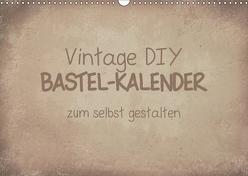 Vintage DIY Bastel-Kalender (Wandkalender 2019 DIN A3 quer) von Speer,  Michael