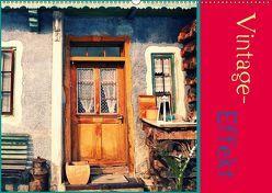 Vintage-Effekt (Wandkalender 2018 DIN A2 quer) von Flori0