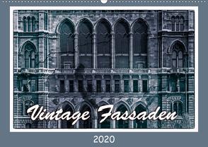 Vintage-Fassaden (Wandkalender 2020 DIN A2 quer) von Braun,  Werner