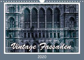 Vintage-Fassaden (Wandkalender 2020 DIN A4 quer) von Braun,  Werner
