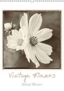 Vintage-Flowers (Wandkalender 2019 DIN A3 hoch) von Bücker,  Michael