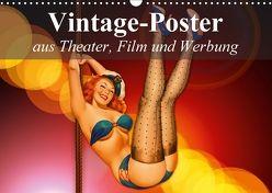 Vintage-Poster aus Theater, Film und Werbung (Wandkalender 2018 DIN A3 quer) von Stanzer,  Elisabeth