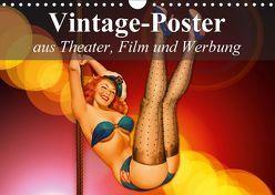 Vintage-Poster aus Theater, Film und Werbung (Wandkalender 2018 DIN A4 quer) von Stanzer,  Elisabeth