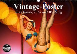 Vintage-Poster aus Theater, Film und Werbung (Wandkalender 2019 DIN A3 quer) von Stanzer,  Elisabeth