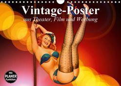 Vintage-Poster aus Theater, Film und Werbung (Wandkalender 2019 DIN A4 quer) von Stanzer,  Elisabeth