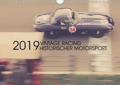 Vintage Racing, historischer Motorsport (Wandkalender 2019 DIN A4 quer) von Arndt,  Karsten