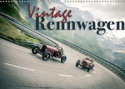 Vintage Rennwagen (Wandkalender 2018 DIN A3 quer) von Hinrichs,  Johann