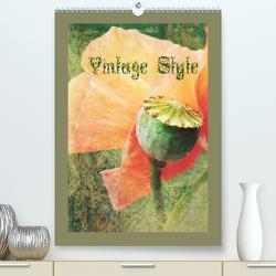 Vintage Style (Premium, hochwertiger DIN A2 Wandkalender 2021, Kunstdruck in Hochglanz) von Hultsch,  Heike