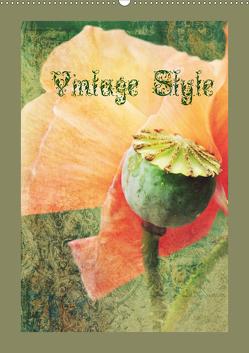 Vintage Style (Wandkalender 2021 DIN A2 hoch) von Hultsch,  Heike