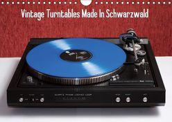 Vintage Turntables Made In Schwarzwald (Wandkalender 2019 DIN A4 quer) von Mueller,  Gerhard