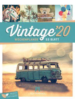 Vintage – Wochenplaner 2020