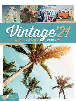 Vintage – Wochenplaner Kalender 2021
