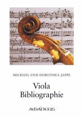 Viola Bibliographie von Jappe,  Dorothea, Jappe,  Michael