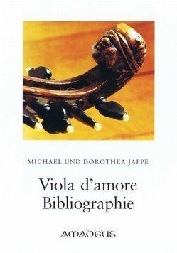 Viola d'amore Bibliographie von Jappe,  Dorothea, Jappe,  Michael
