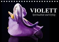 Violett. Spiritualität und Erfolg (Tischkalender 2018 DIN A5 quer) von Stanzer,  Elisabeth