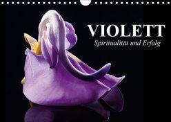 Violett. Spiritualität und Erfolg (Wandkalender 2018 DIN A4 quer) von Stanzer,  Elisabeth