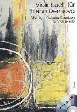 Violinbuch für Elena Denisova von Denisova,  Elena