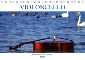 VIOLONCELLO – atemberaubende Cellomotive (Tischkalender 2020 DIN A5 quer) von Hoffmann,  Daniel