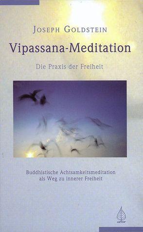 Vipassana-Meditation von Goldstein,  Joseph