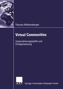 Virtual Communities von Wolfensberger,  Thomas