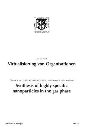Virtualisierung von Organisationen. Synthesis of highly specific Nanoparticles in the gas phase von Fikri,  Mustapha, Roth,  Paul, Schulz,  Arnold Picot. Christof, Wiggers,  Hartmut, Wlokas,  Irenäus