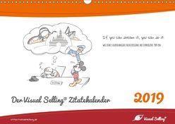 Visual Selling® Zitatekalender 2019 (Wandkalender 2019 DIN A3 quer) von Hamel,  Miriam