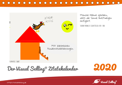 Visual Selling® Zitatekalender 2020 (Tischkalender 2020 DIN A5 quer) von Hamel,  Miriam