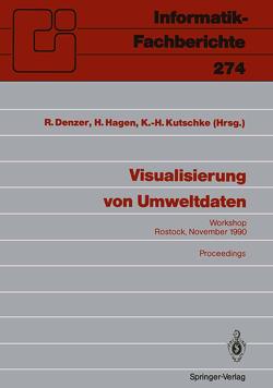 Visualisierung von Umweltdaten von Denzer,  Ralf, Hagen,  Hans, Kutschke,  Karl-Heinz