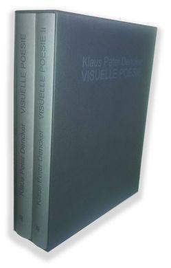 Visuelle Poesie I + II von Dencker,  Klaus Peter
