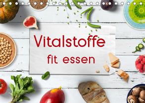 Vitalstoffe – fit essen (Tischkalender 2020 DIN A5 quer) von Bergmann,  Kathleen
