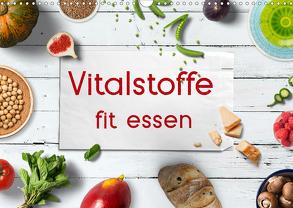 Vitalstoffe – fit essen (Wandkalender 2020 DIN A3 quer) von Bergmann,  Kathleen
