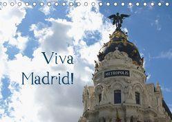 Viva Madrid! (Tischkalender 2019 DIN A5 quer) von Falk,  Dietmar