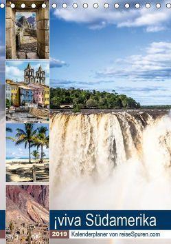 ¡viva Südamerika (Tischkalender 2019 DIN A5 hoch) von Bergwitz,  Uwe