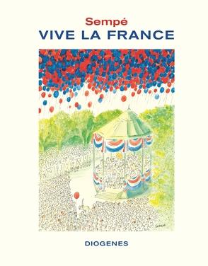 Vive la France von Sempé,  Jean-Jacques
