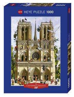 Vive Notre Dame! Puzzle von Loup,  Jean-Jacques