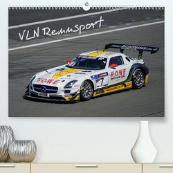 VLN Rennsport (Premium, hochwertiger DIN A2 Wandkalender 2021, Kunstdruck in Hochglanz) von Mueller,  Gerhard