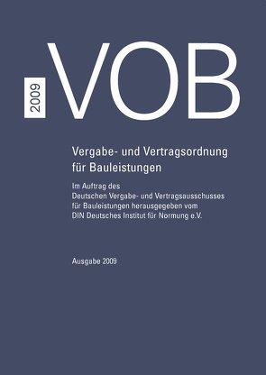 VOB 2009 – Buch mit E-Book