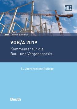 VOB/A 2019 von Mestwerdt,  Thomas