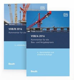 VOB/A + VOB/B 2016 von Diehr,  Uwe, Mestwerdt,  Thomas