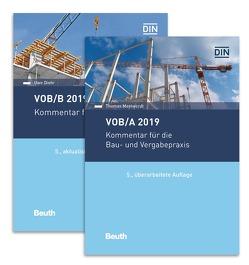 VOB/A + VOB/B 2019 von Diehr,  Uwe, Mestwerdt,  Thomas