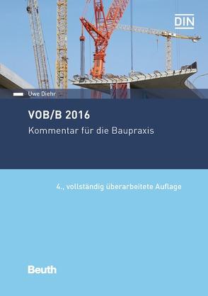 VOB/B 2016 von Diehr,  Uwe