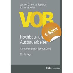 VOB im Bild – Hochbau- und Ausbauarbeiten – E-Book (PDF) von Nolte,  Johannes