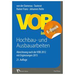 VOB im Bild Hochbau- und Ausbauarbeiten – E-Book (PDF) von Franz,  Rainer, Nolte,  Architekt